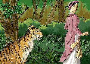 Phát biểu cảm nghĩ về truyện Con hổ có nghĩa