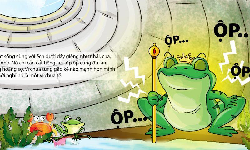 Tóm tắt truyện ếch ngồi đáy giếng