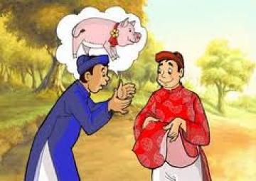 Phát biểu cảm nghĩ của em về truyện lợn cưới, áo mới.