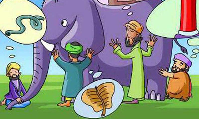 Phát biểu cảm nghĩ về truyện ngũ ngôn Thầy bói xem voi