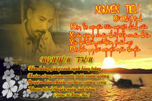 Phát biểu cảm nghĩ về bài thơ Rằm tháng giêng của Hồ Chí Minh