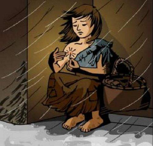 Cảm nhận về truyện cô bé bán diêm của An Đéc Xen