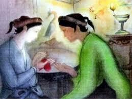 van mau phan tich doan trich trao duyen trong truyen kieu cua nguyen du Phân tích đoạn trích Trao duyên trong Truyện Kiều của Nguyễn Du