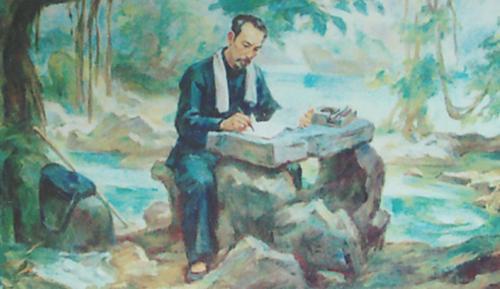 Suy nghĩ của em về thú lâm tuyền trong bài thơ Tức cảnh Pác Bó của Hồ Chí Minh